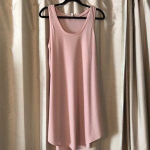 Pastel Pink Summer Dress